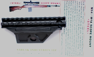M14 M1A Sadlak Steel Scope Mount